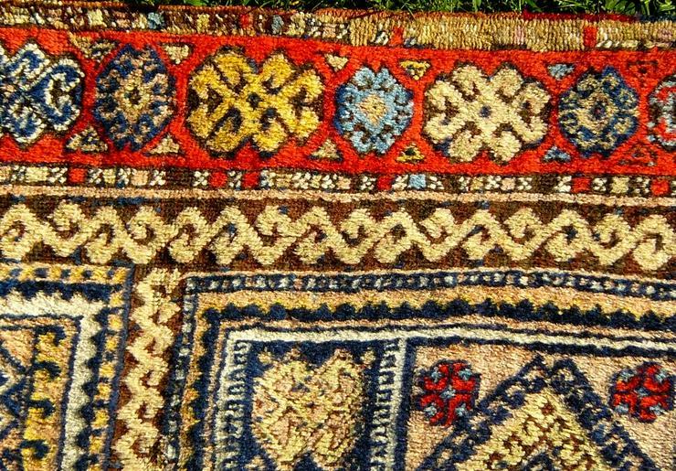 Bild 3: Orientteppich Konya 18te Jhdt. 383x96 (T032)