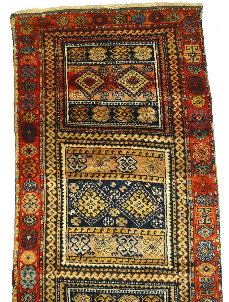 Bild 6: Orientteppich Konya 18te Jhdt. 383x96 (T032)