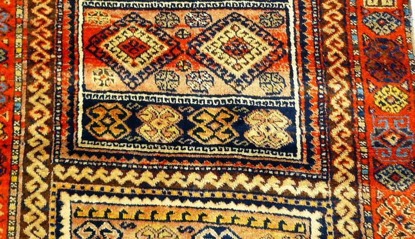 Bild 4: Orientteppich Konya 18te Jhdt. 383x96 (T032)