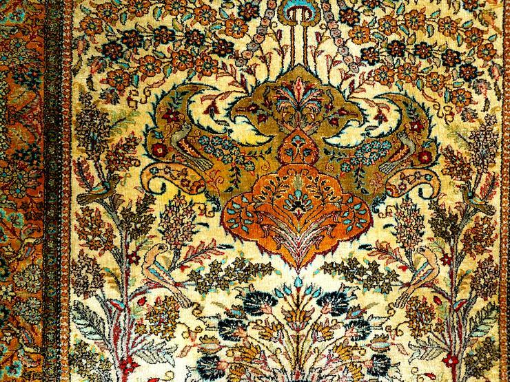 Bild 6: Orientteppich Ghom Seide 158x110 alt (T093)