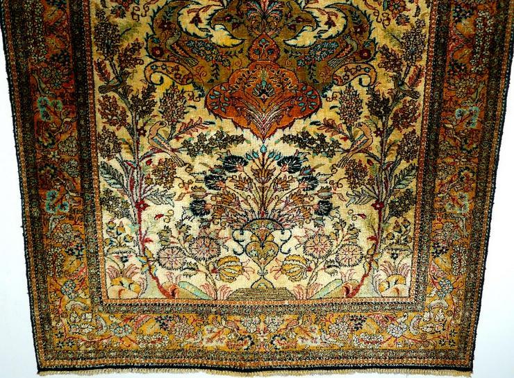Bild 3: Orientteppich Ghom Seide 158x110 alt (T093)