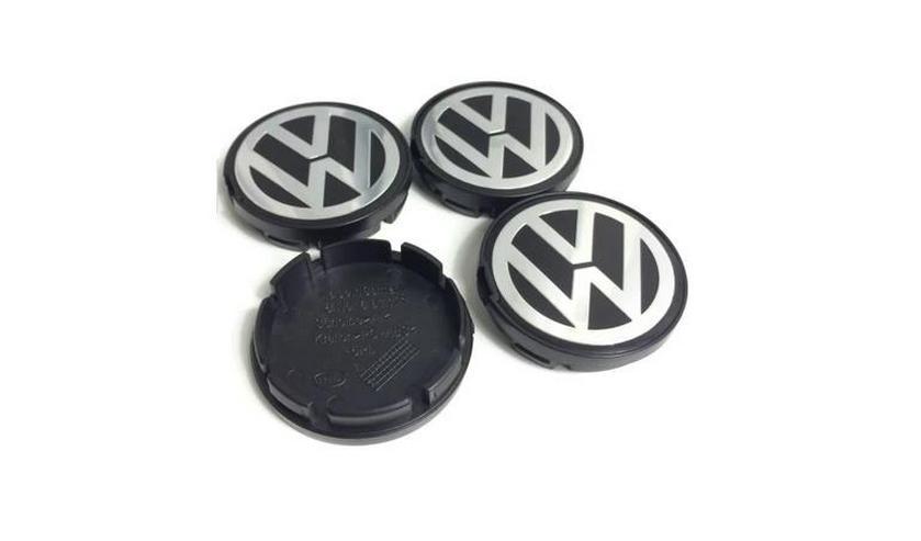 Original 4 Stück VW Volkswagen Nabenkappen Nabendeckel Felgendeckel 55mm 6N0601171