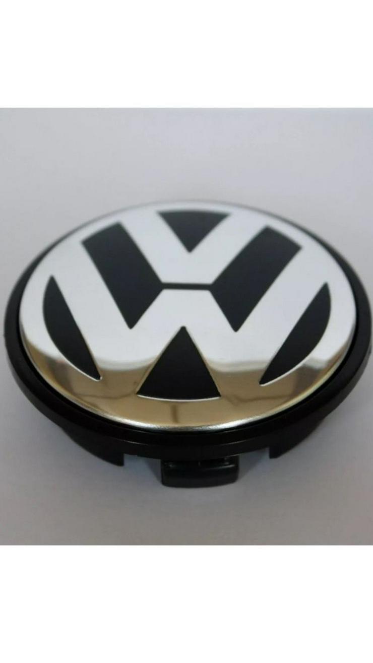 Original 4St. VW Volkswagen Nabenkappen Nabendeckel 63 mm 7D0601165 7M7601165