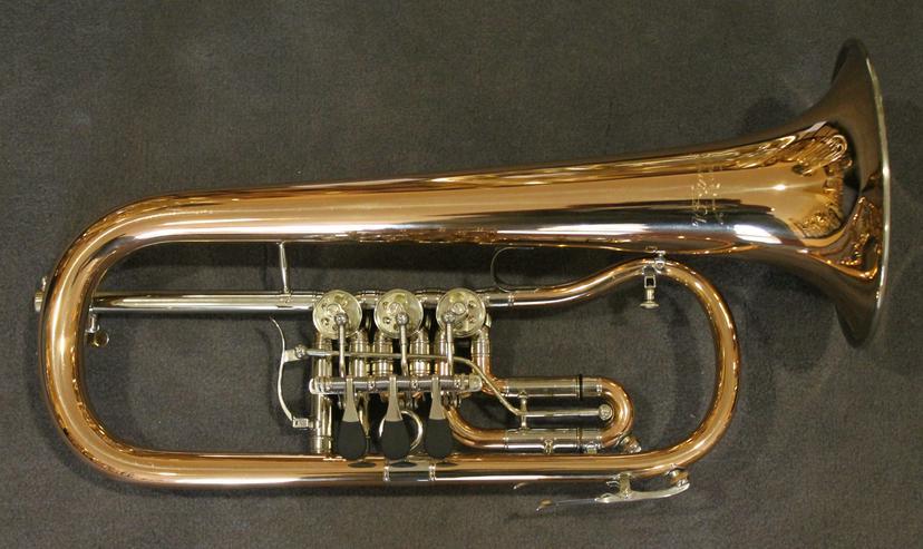 V. F. Cerveny Konzert - Flügelhorn, Mod. CVFH 702 R mit Koffer - Blasinstrumente - Bild 1