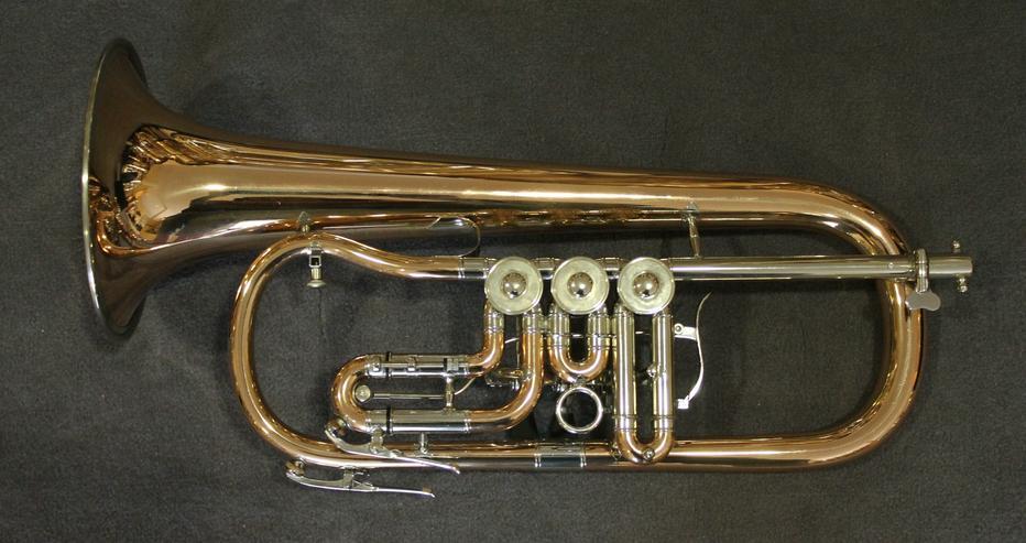 Bild 6: V. F. Cerveny Konzert - Flügelhorn, Mod. CVFH 702 R mit Koffer