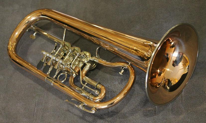 Bild 5: V. F. Cerveny Konzert - Flügelhorn, Mod. CVFH 702 R mit Koffer