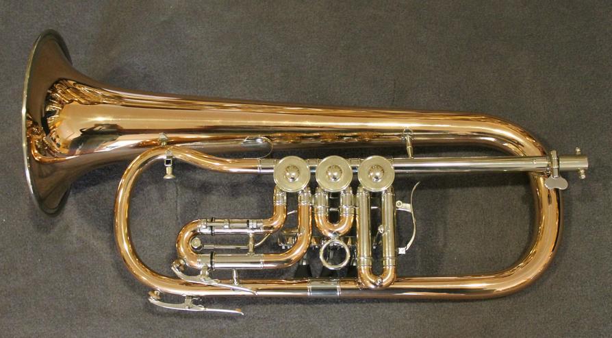 Bild 3: V. F. Cerveny Konzert - Flügelhorn, Mod. CVFH 702 R mit Koffer