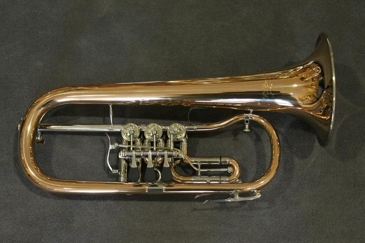 Bild 4: V. F. Cerveny Konzert - Flügelhorn, Mod. CVFH 702 R mit Koffer