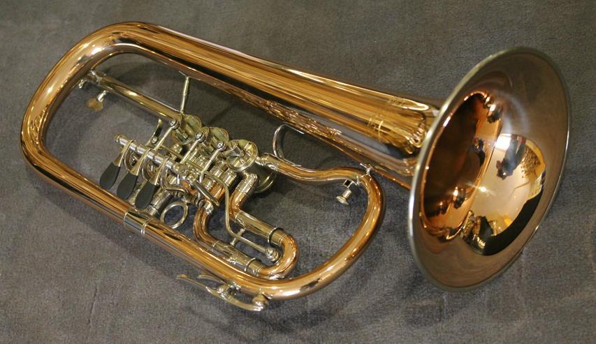 Bild 2: V. F. Cerveny Konzert - Flügelhorn, Mod. CVFH 702 R mit Koffer