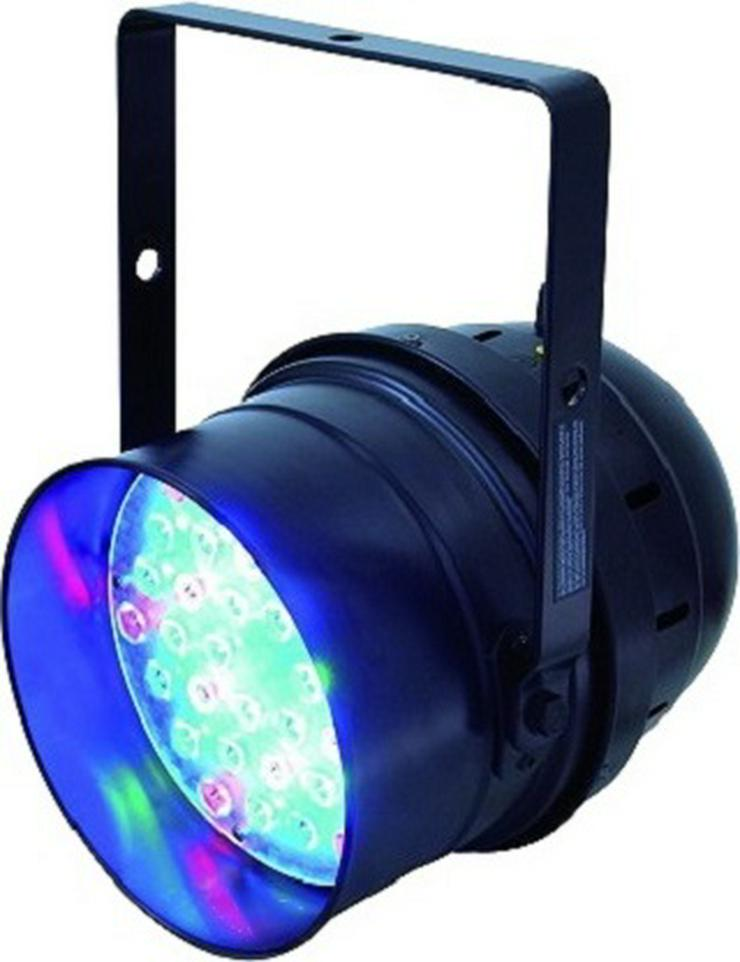 Verleih LED PAR-64 RGB 36x1W Scheinwerfer I Partylicht I Spot