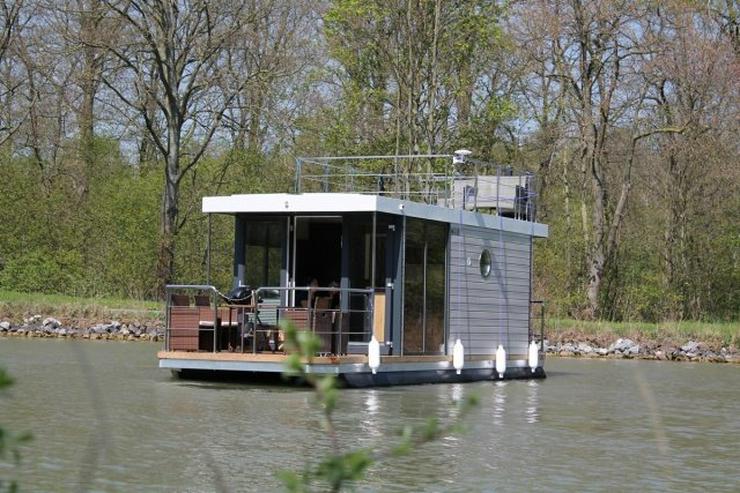 Schickes und modernes Hausboot - Motorboote & Yachten - Bild 1
