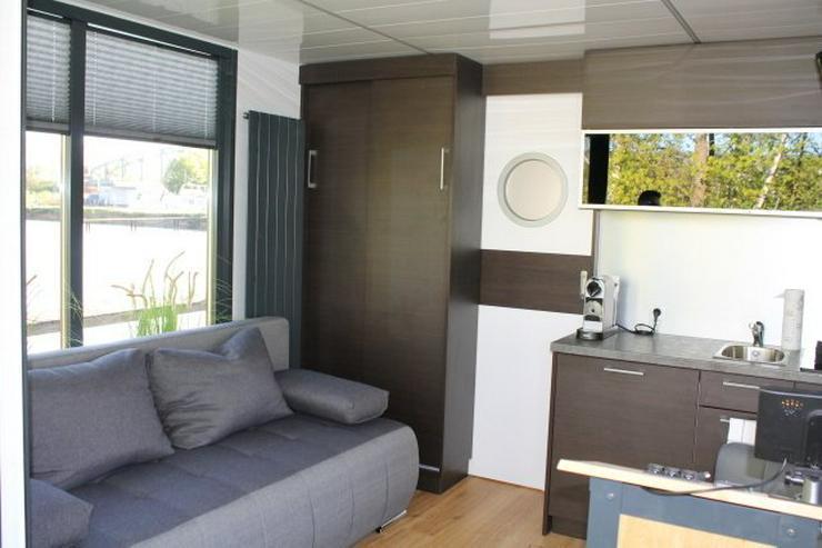 Bild 3: Schickes und modernes Hausboot