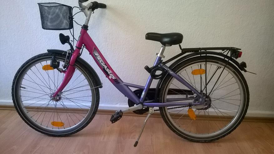 Bild 3: Zwei Damenfahrräder  und  ein Kinderfahrrad