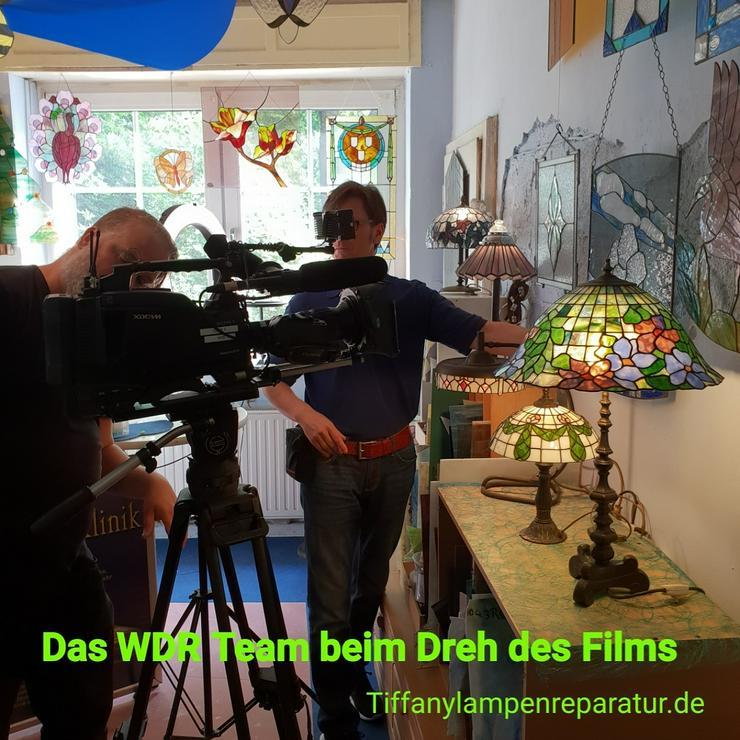 Tiffany Lampen Reparatur Klinik Nrw & Glas Galerie an der Ruhr & Glaskunst Werkstatt Mülheim