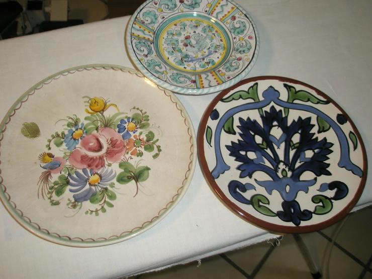 Verschenke 3 Keramikteller
