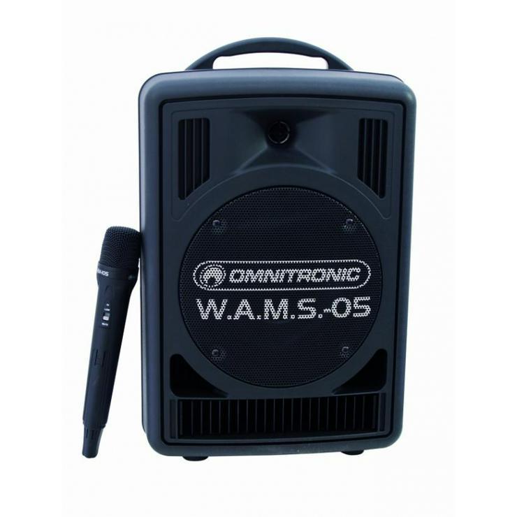 Vemietung OMNITRONIC W.A.M.S.-05 Drahtlos-PA-System mit Mikrofon - Vermietung & Verleih - Bild 1