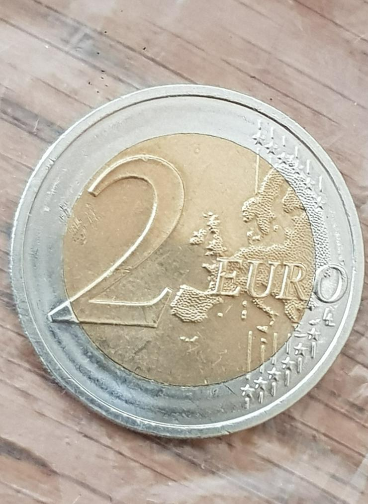 Bild 2: 2 Euro Münze aus Deutschland von 2015