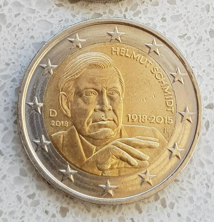 2 Euro Münze aus Deutschland von 2015