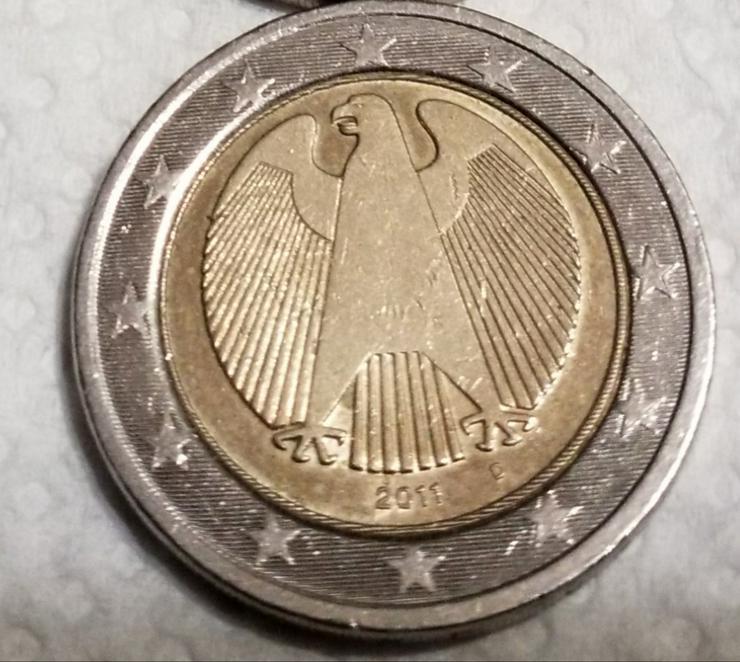 2 Euro Münze aus Deutschland von 2011 * A *