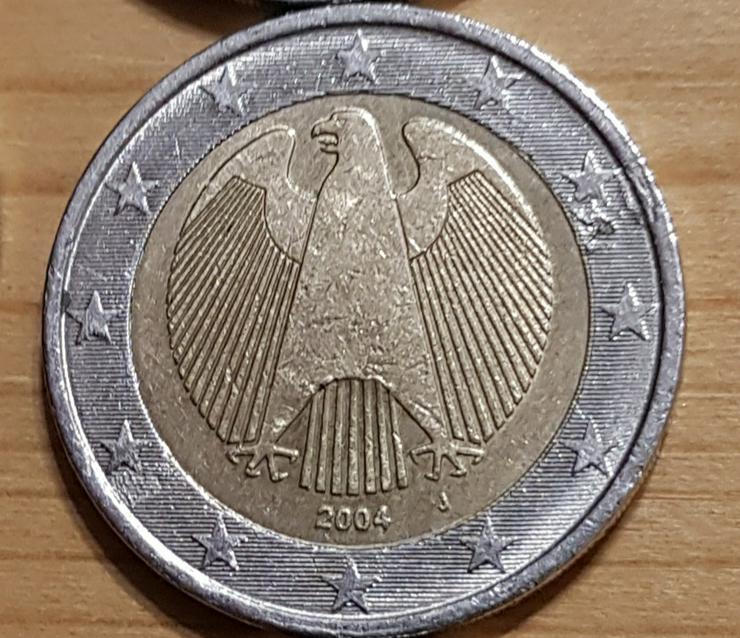 2 Euro Münze aus Deutschland von 2004 * J *