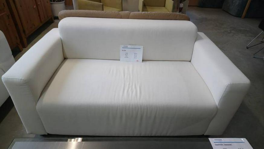 Couch Sofa Zweisitzer Stoffsofa