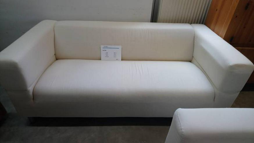 Couch Sofa Dreisitzer Stoffsofa