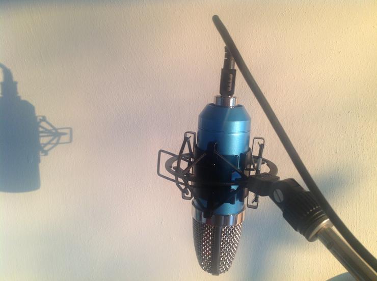 Studiomikrofon mit USB Anschluß für Mac, Windows etc.