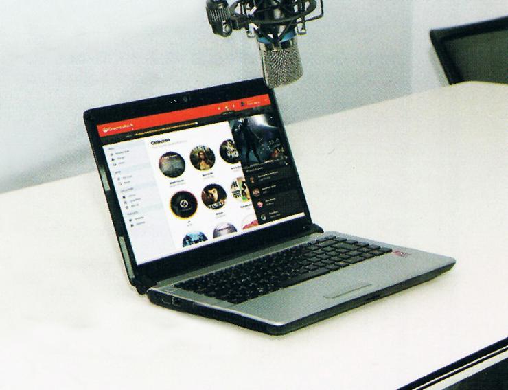 Bild 5: Studiomikrofon mit USB Anschluß für Mac, Windows etc.