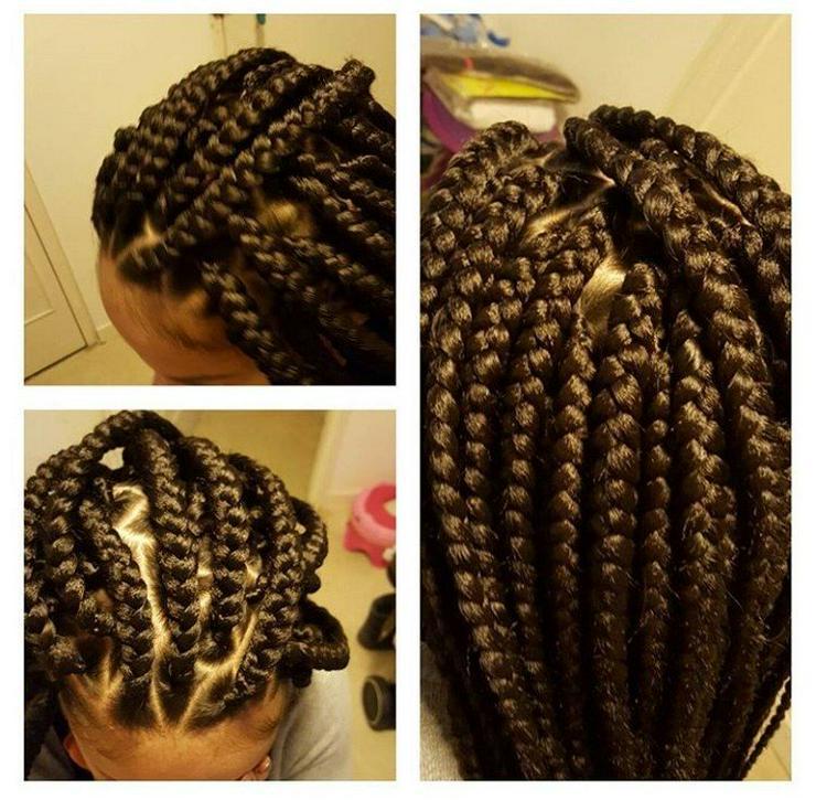 Bild 6: Afrikanische Schöne Haare machen