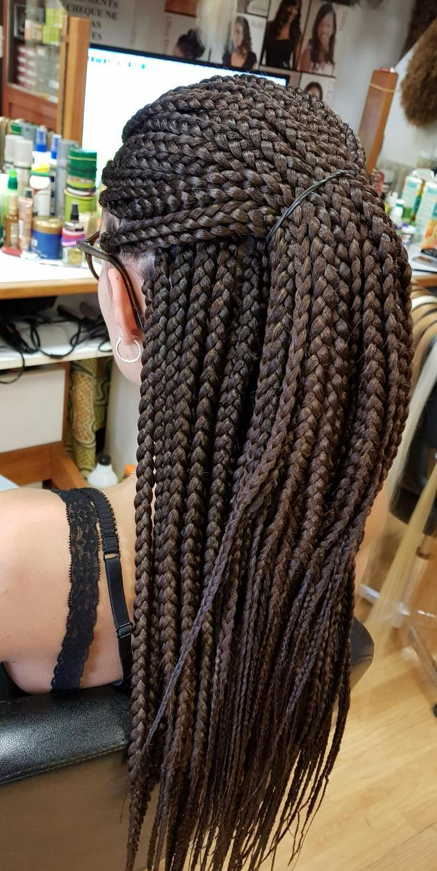 Bild 4: Afrikanische Schöne Haare machen