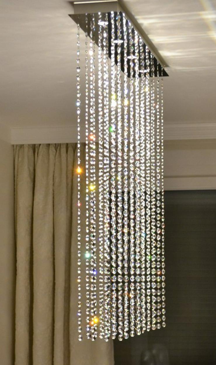 Elegante Deckenlampe mit Kristallen von Swarovski(R)