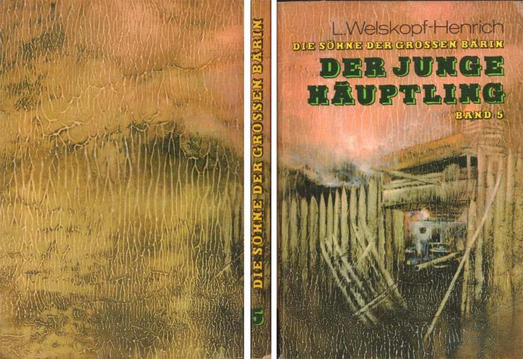 Buch von L. Welskopf-Henrich- Die Söhne der großen Bärin - Der junge Häuptling