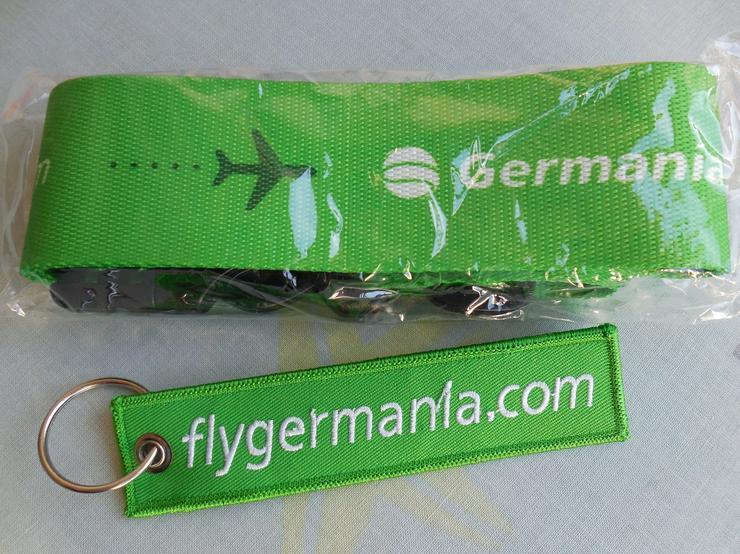 Germania Airline Schlüsselanhänger - Schlüsselanhänger - Bild 1
