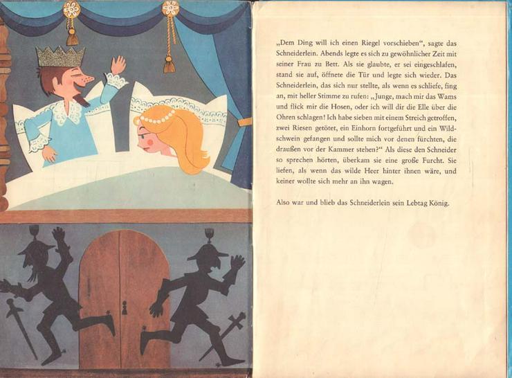 Bild 4: Beschäftigungsbuch - Das tapfere Schneiderlein - DDR Kinderbuch