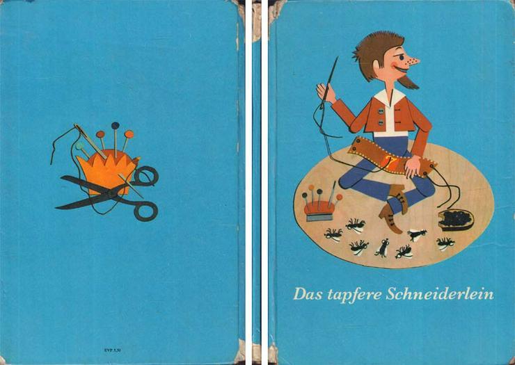 Beschäftigungsbuch - Das tapfere Schneiderlein - DDR Kinderbuch - Kinder& Jugend - Bild 1