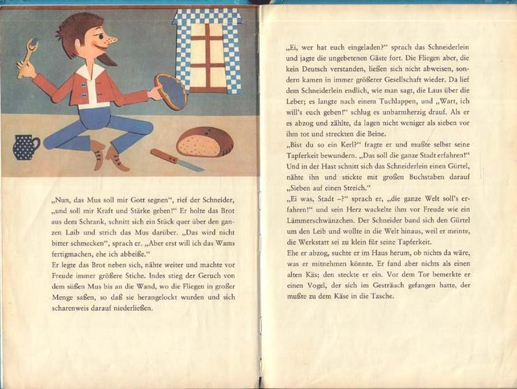 Bild 2: Beschäftigungsbuch - Das tapfere Schneiderlein - DDR Kinderbuch