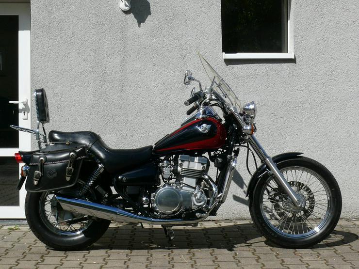Bild 2: Kawasaki EN 500 Chopper viele Extras Top gepflegt