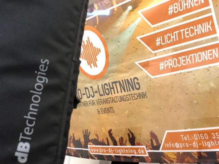 Verkauf von RCF und dBTechnologies Beschallungstechnik - Party, Events & Messen - Bild 1