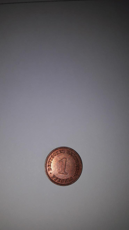 Jaeger 1  1 Pfennig 1877 B vz