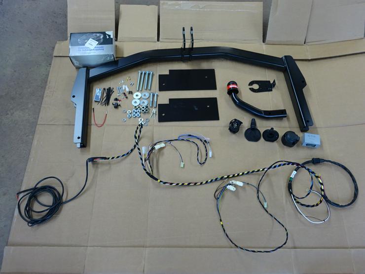 Bild 2: Anhängerkupplung mit Einbau Skoda Octavia 5E Kupplung Anhängekupplung einbauen nachrüsten