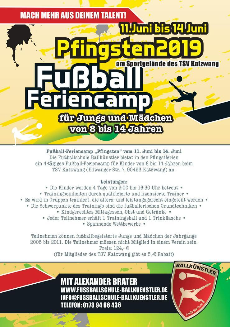 Bild 2: Fußballcamp in den Pfingstferien