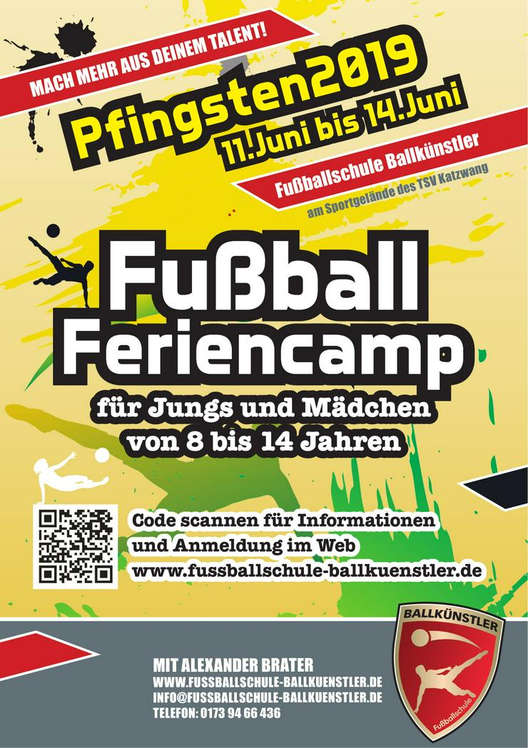 Fußballcamp in den Pfingstferien