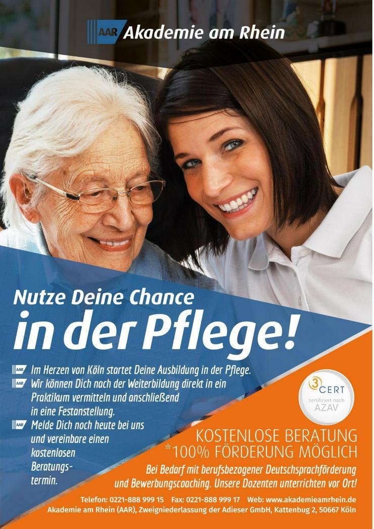 Ausbildung mit Zukunft in der Altenpflege!