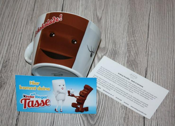 Kinder Riegel Tasse Sammeltasse Milky Schoki Heiße Schokolade NEU