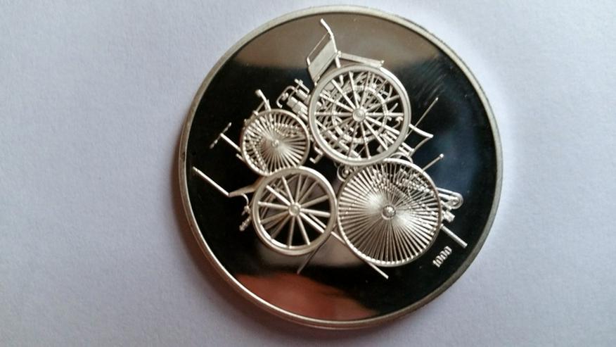 Bild 3: Daimler Gedenkmünze