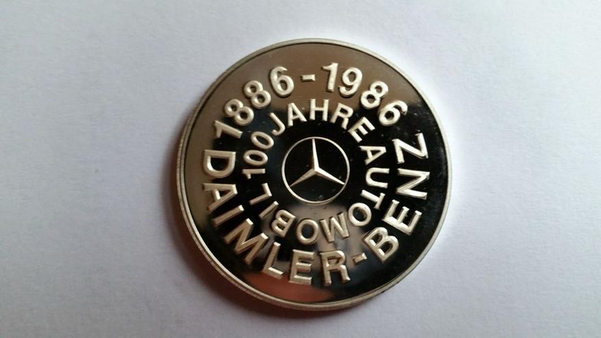 Bild 2: Daimler Gedenkmünze