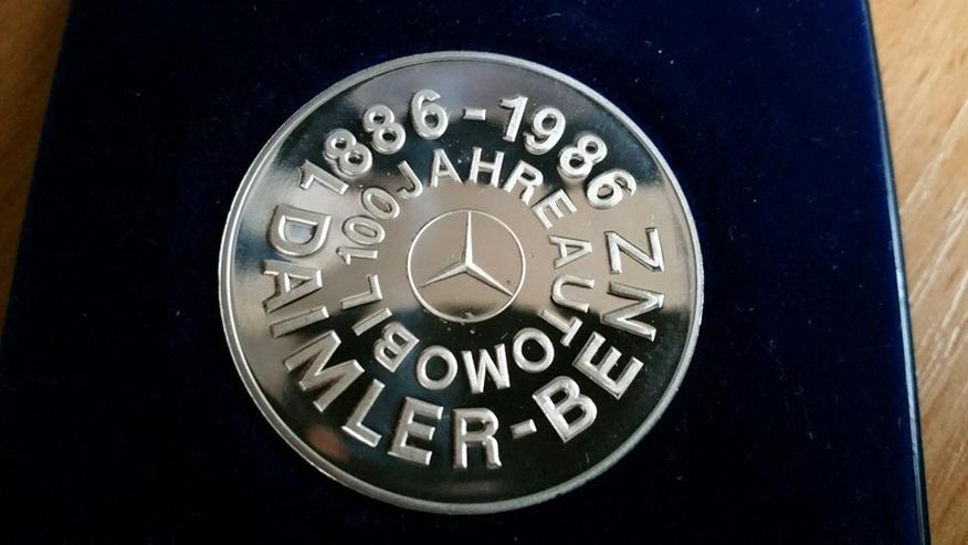 Daimler Gedenkmünze