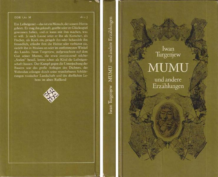Kinderbuch von Iwan Turgenjew - Mumu und andere Erzählungen - von 1981 - Kinder& Jugend - Bild 1