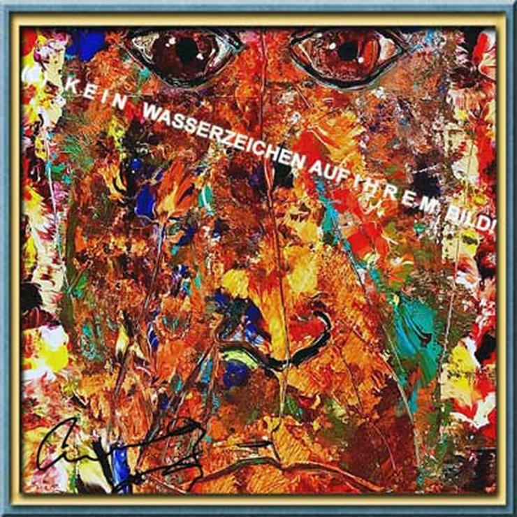 ANTHONY HOPKINS Kunstwerk! Deko. Souvenir. Geschenk. Lifestyle. Wandbild. Autogramm. Bild.