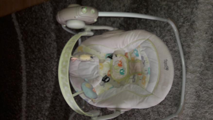 Elektrische Babyschaukel.